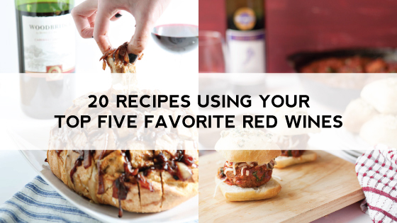 20 Recipes Using Your Top Five Favorite Red Wines